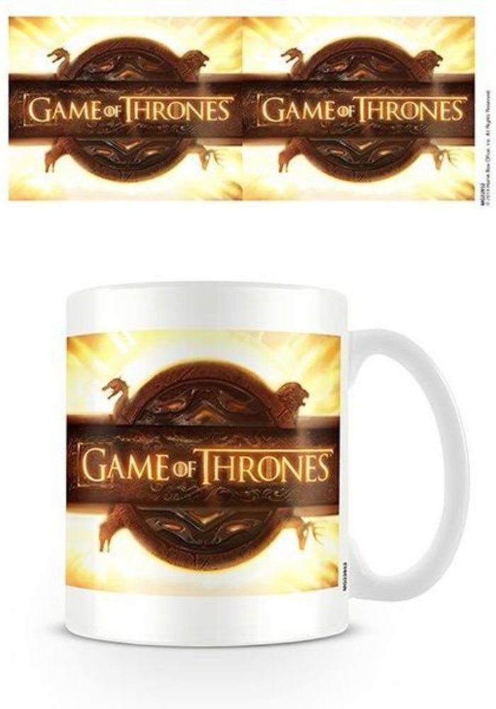 Game Of Thrones Opening Logo | Mug
