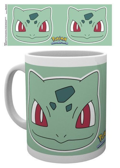 Pokemon Pokemon Bulbasaur Face | Mok