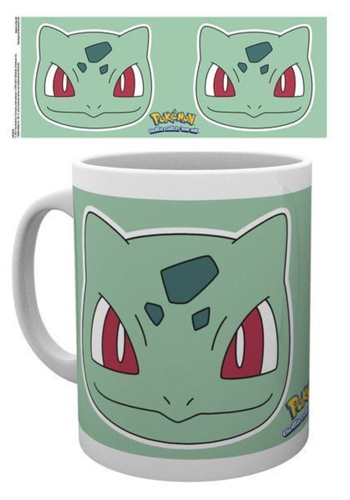 Pokemon Bulbasaur Face | Tasse a cafe