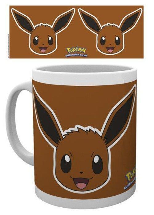Pokemon Pokemon Eevee Face | Tasse a cafe