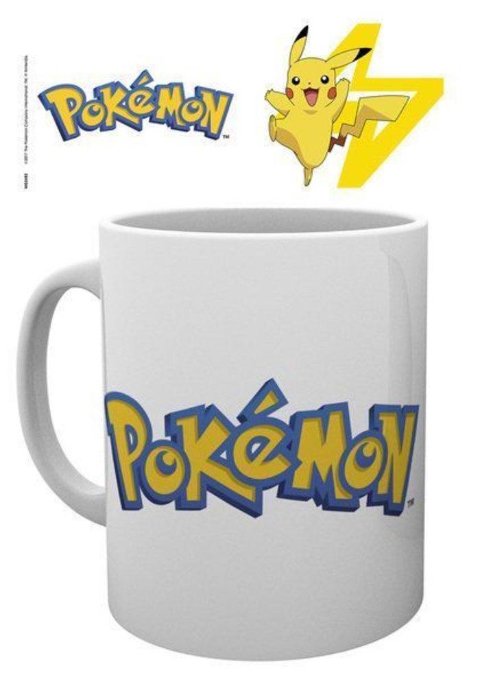 Pokemon Logo and Pikachu | Tasse a cafe
