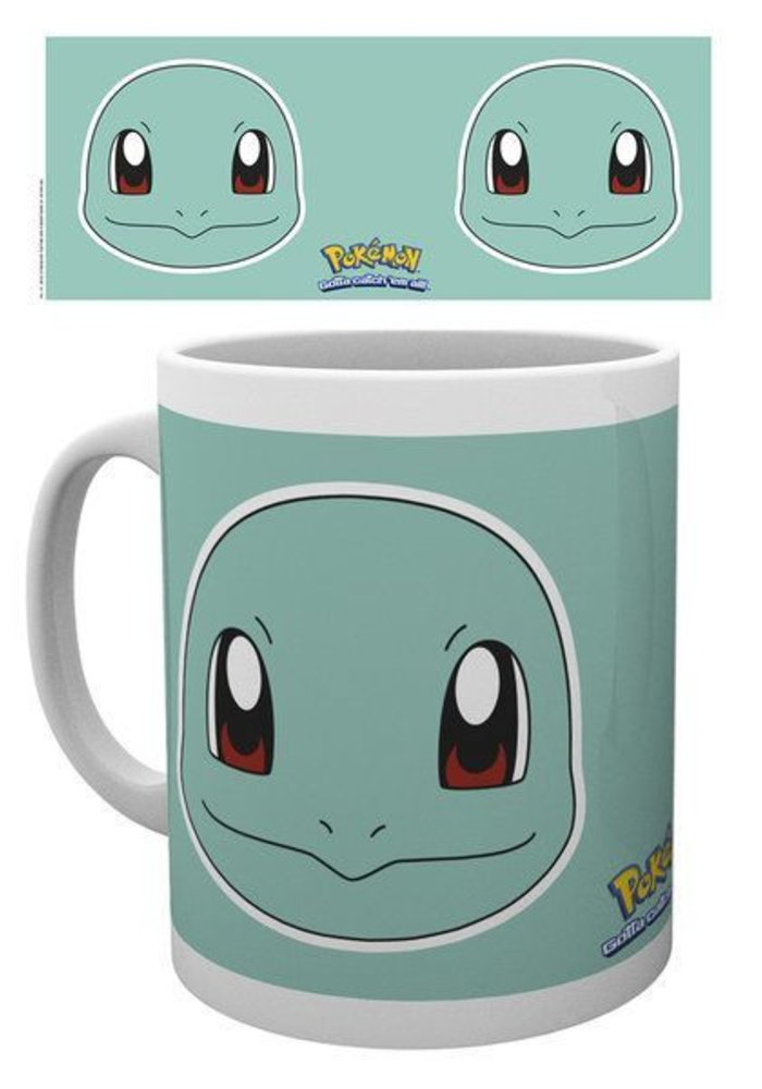 Pokemon Squirtle Face | Tasse a cafe