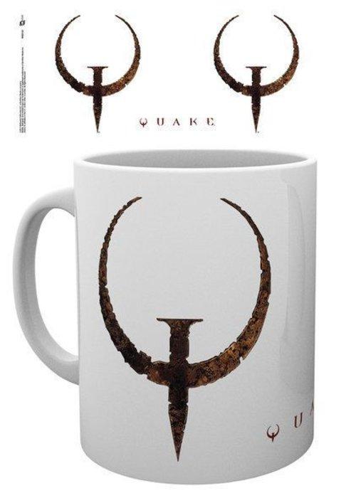 Quake Quake Logo | Tasse a cafe