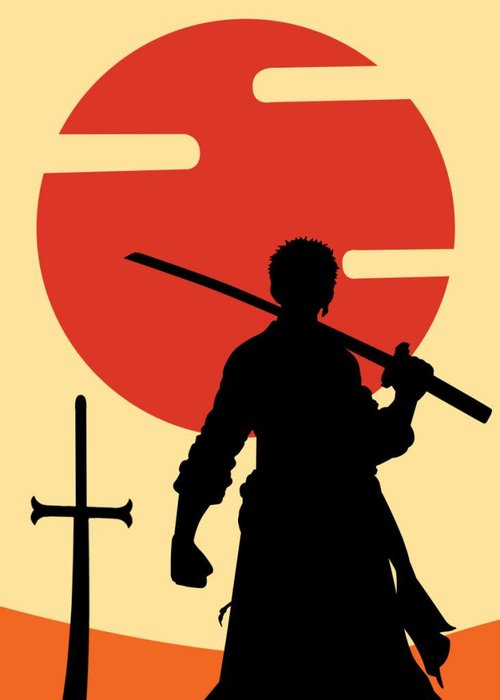 Displate - swordsman -  |  Animes and Mangas