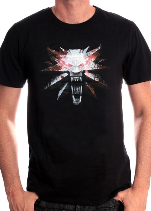 The Witcher The Witcher 3 | Wolf Medaillon | T-Shirt