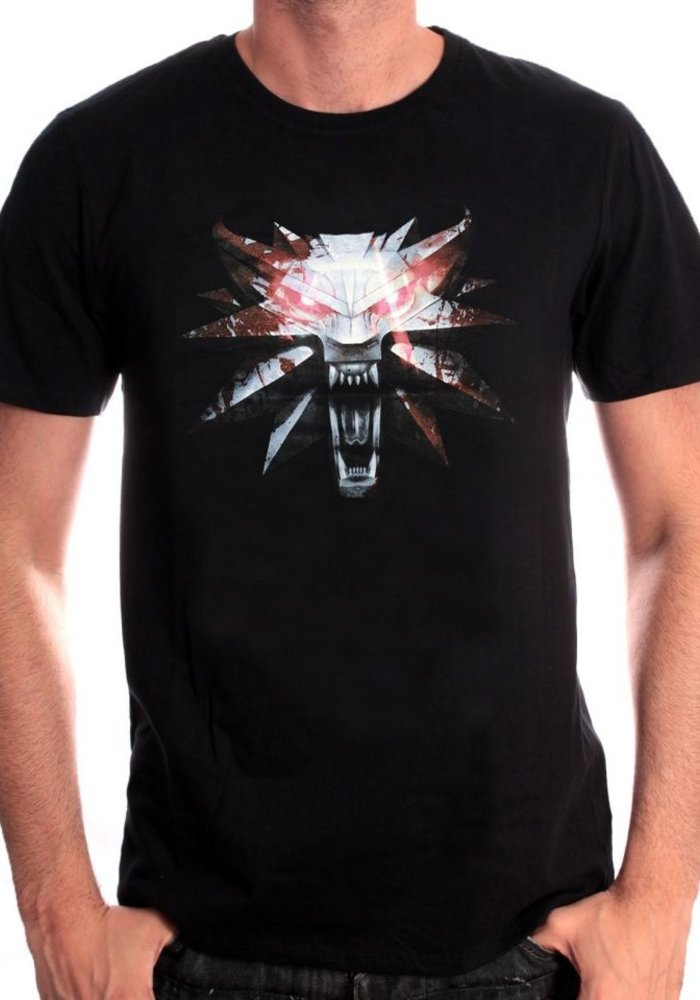 The Witcher 3 | Wolf Medaillon | T-Shirt