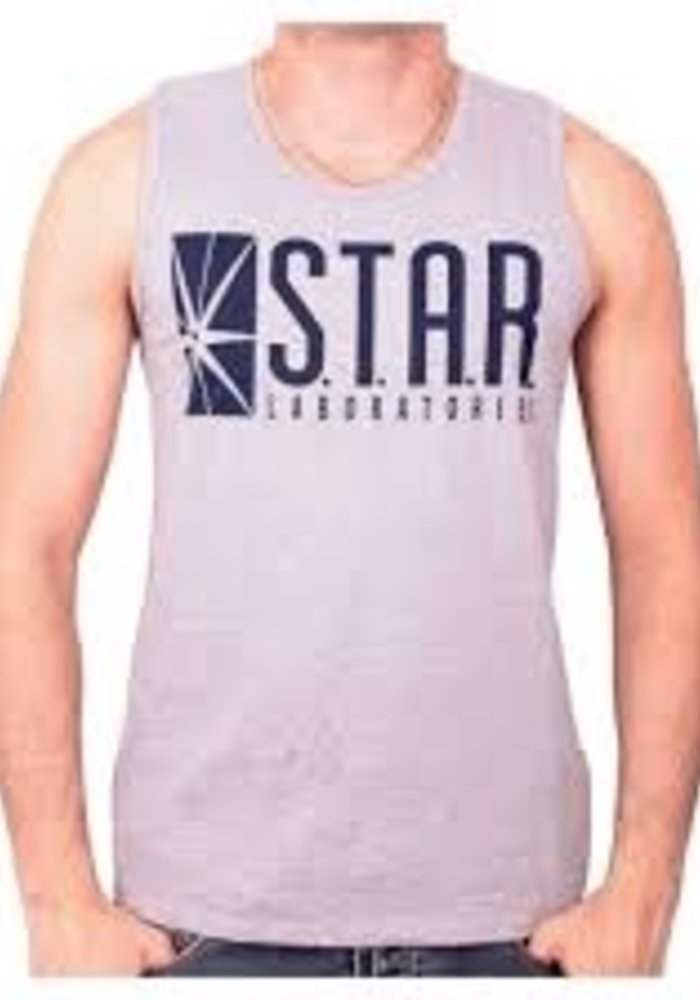 The Flash | Star Laboratories | Tank Top Blue