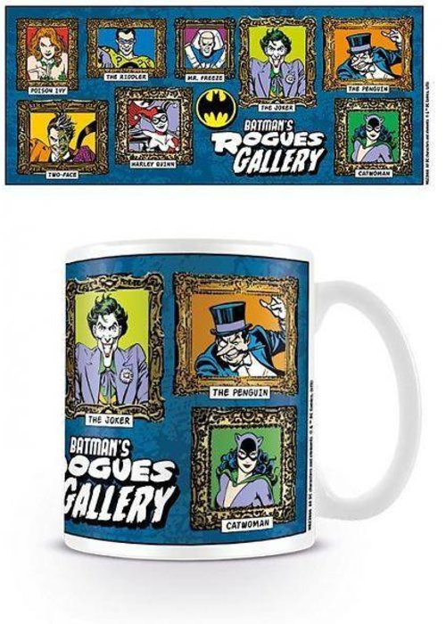 DC Comics Batman's Rogues Gallery Mug
