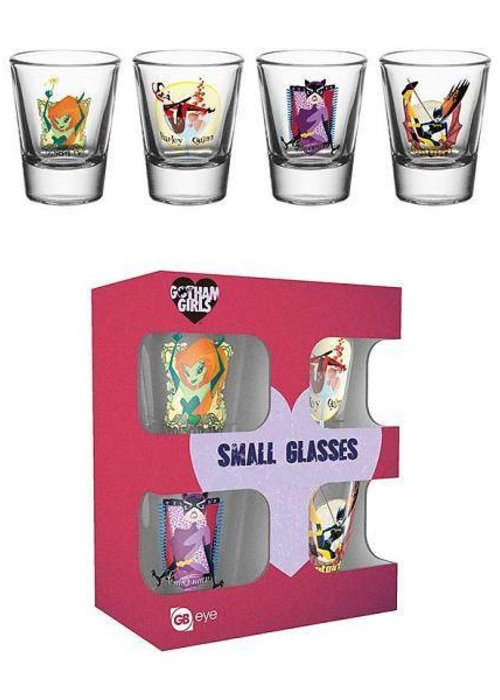 Gotham Girls Shotglasses