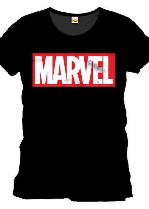 Marvel Marvel Logo Black - T-Shirt