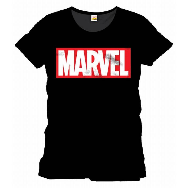 outlet store pretty cheap factory price The Lab Merchandising - MARVEL Logo on Black shirt - The Lab ...