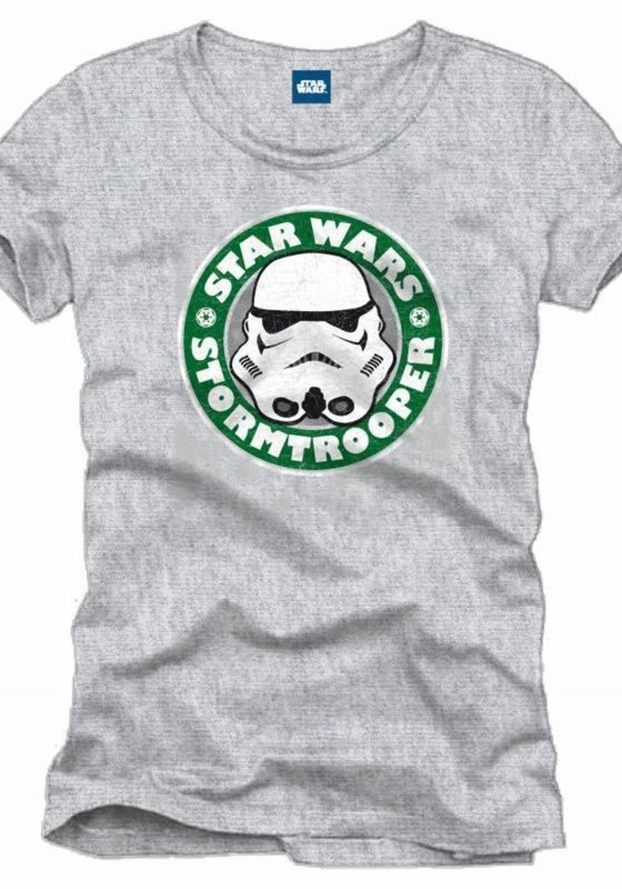 Stormtrooper Starbucks - T-Shirt