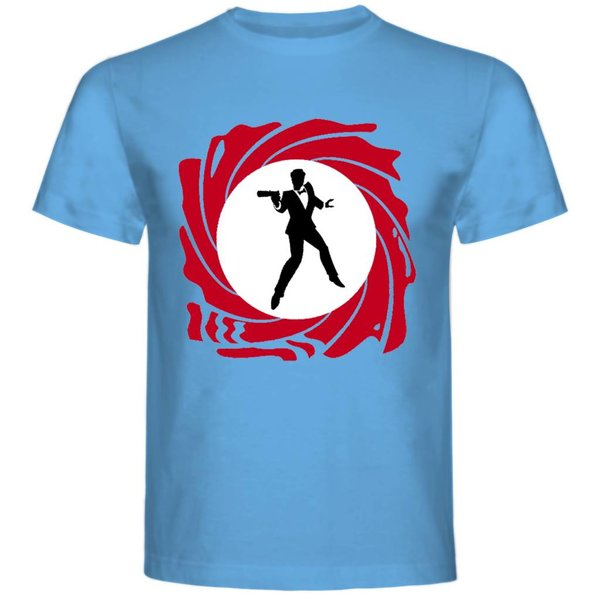 T-shirt met print: James Bond