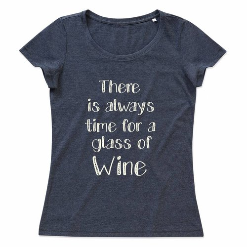 There is always time for a glass of Wine