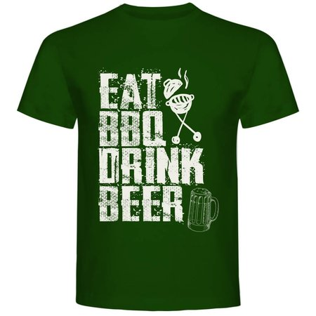 Eat BBQ Drink Beer