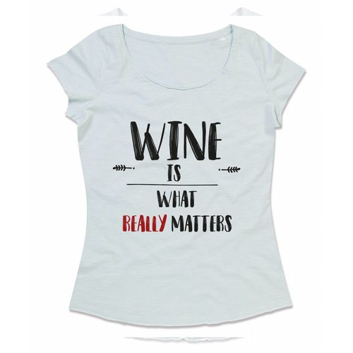 Wine is what really matters