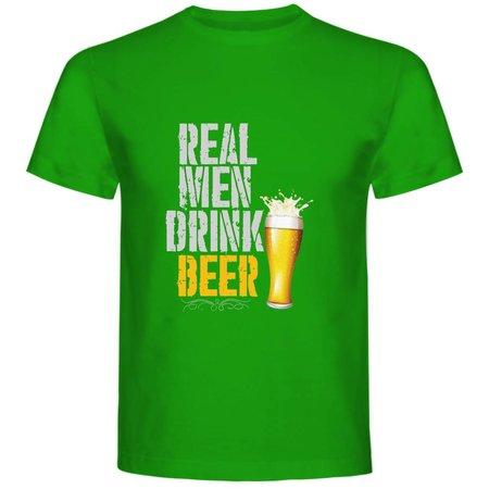 Real men drink beer