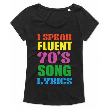 I speak fluent 70's song lyrics