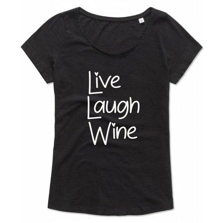 Live Laugh Wine