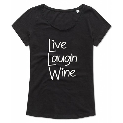 Live Laugh Wine