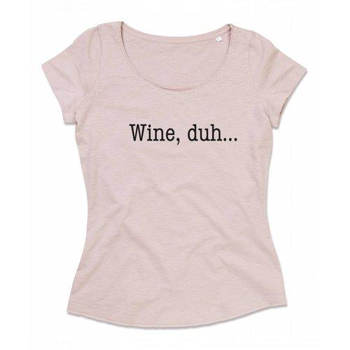 Wine, duh...