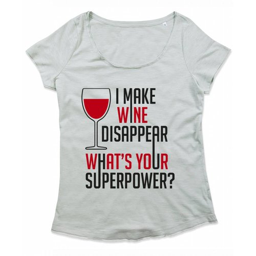 I make wine dissapear what's your superpower?