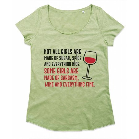 Sugar and Spice Sarcasm and Wine