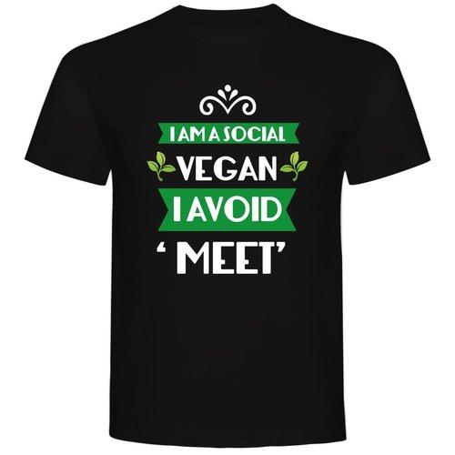 """I am a social Vegan i avoid """"meet"""""""