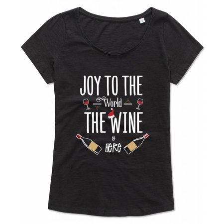Joy to the world, the wine is here
