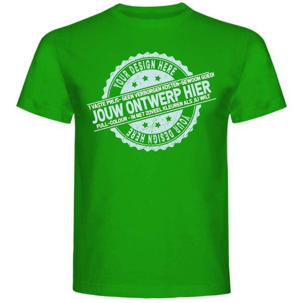 Heren T-shirt met opdruk: ontwerp je eigen T-shirt