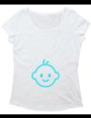 Ladies T-shirt met print Baby Boy Inside