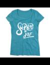 T-shirt voor ladies met de opdruk:  Super juf 2