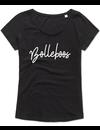 Ladies T-shirt met print:Bolleboos