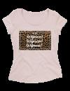 Ladies T-shirt met print: Wijnen! Wijnen! Wijnen! 11:30