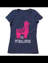 T-shirt voor ladies met de opdruk:No Probllama