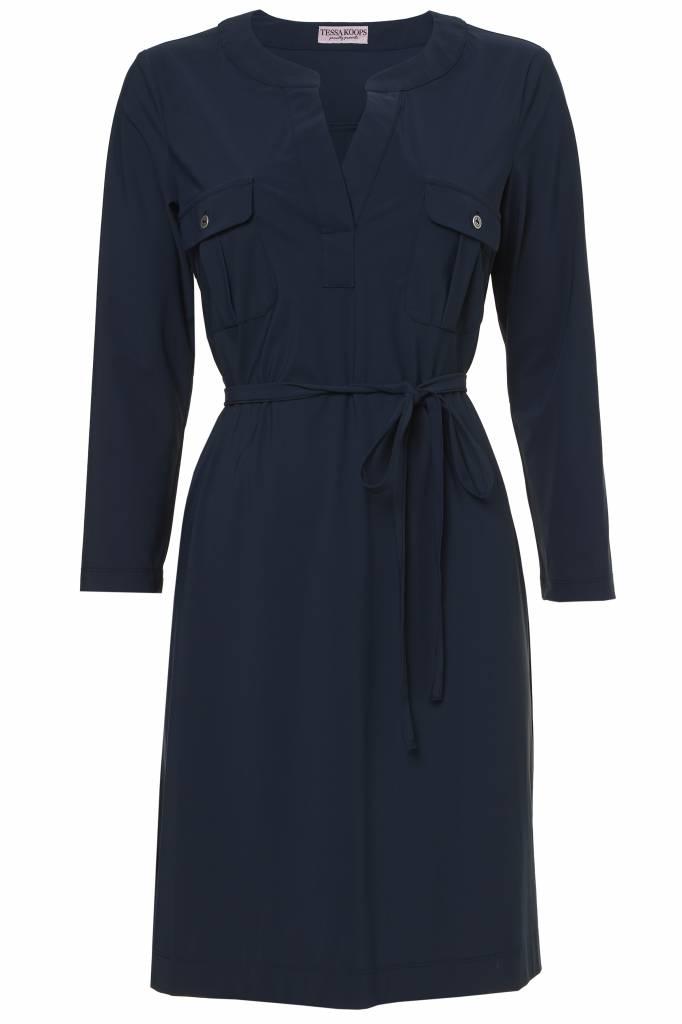 TESSA KOOPS ROXYA BLUE DRESS