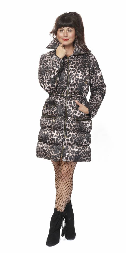 TESSA KOOPS SONIA BROWN LEOPARD JACKET