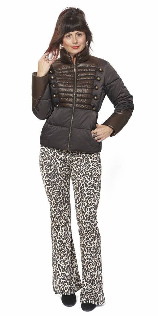 TESSA KOOPS MICHOU DARK BROWN JACKE