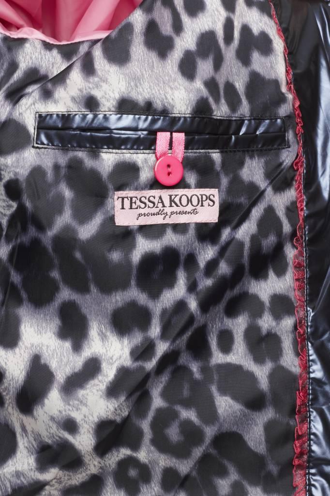 TESSA KOOPS QUINTY METALLICA BLUE JACKE
