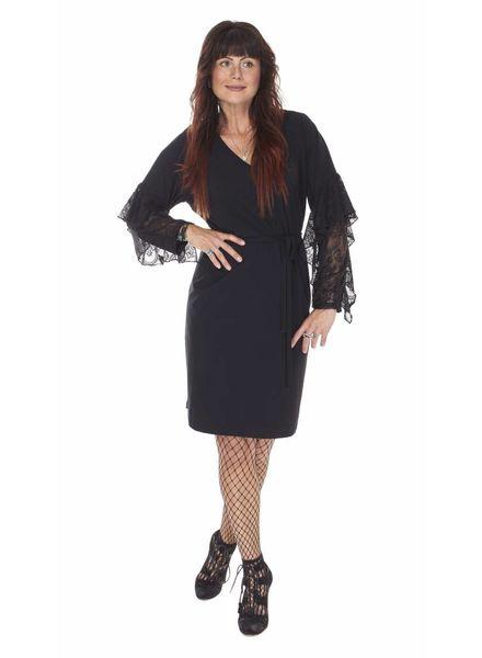 TESSA KOOPS POPPY NERO DRESS