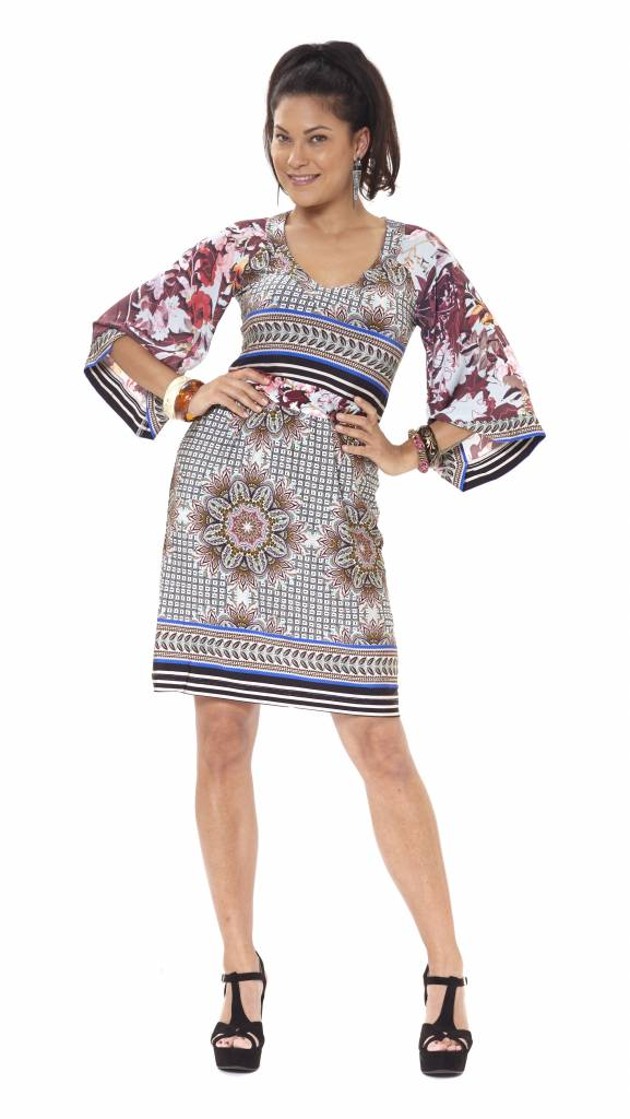 TESSA KOOPS LISA AMALFI DRESS