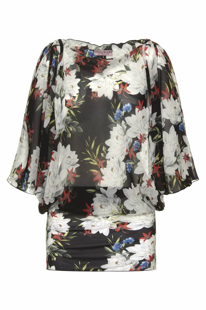 TESSA KOOPS JANE BLACK LILY TUNIC