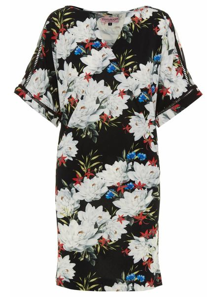 TESSA KOOPS SUELLEN BLACK LILY DRESS
