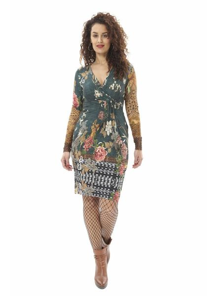 TESSA KOOPS JACKY BOTANICAL DRESS