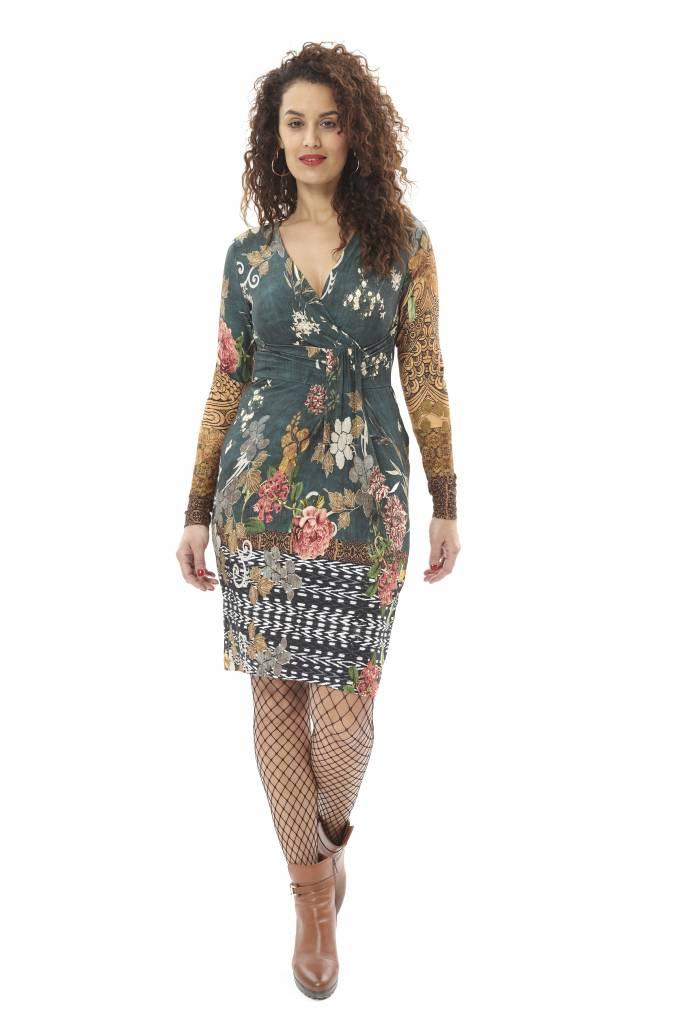 TESSA KOOPS JACKY BOTANICAL DRESS