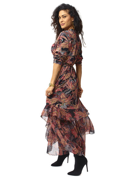 TESSA KOOPS INDIANA PAISLEY DRESS