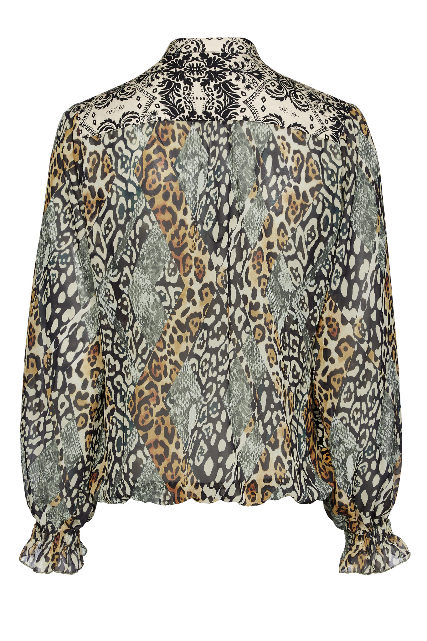 TESSA KOOPS GITTA ANIMAL MIX TOP