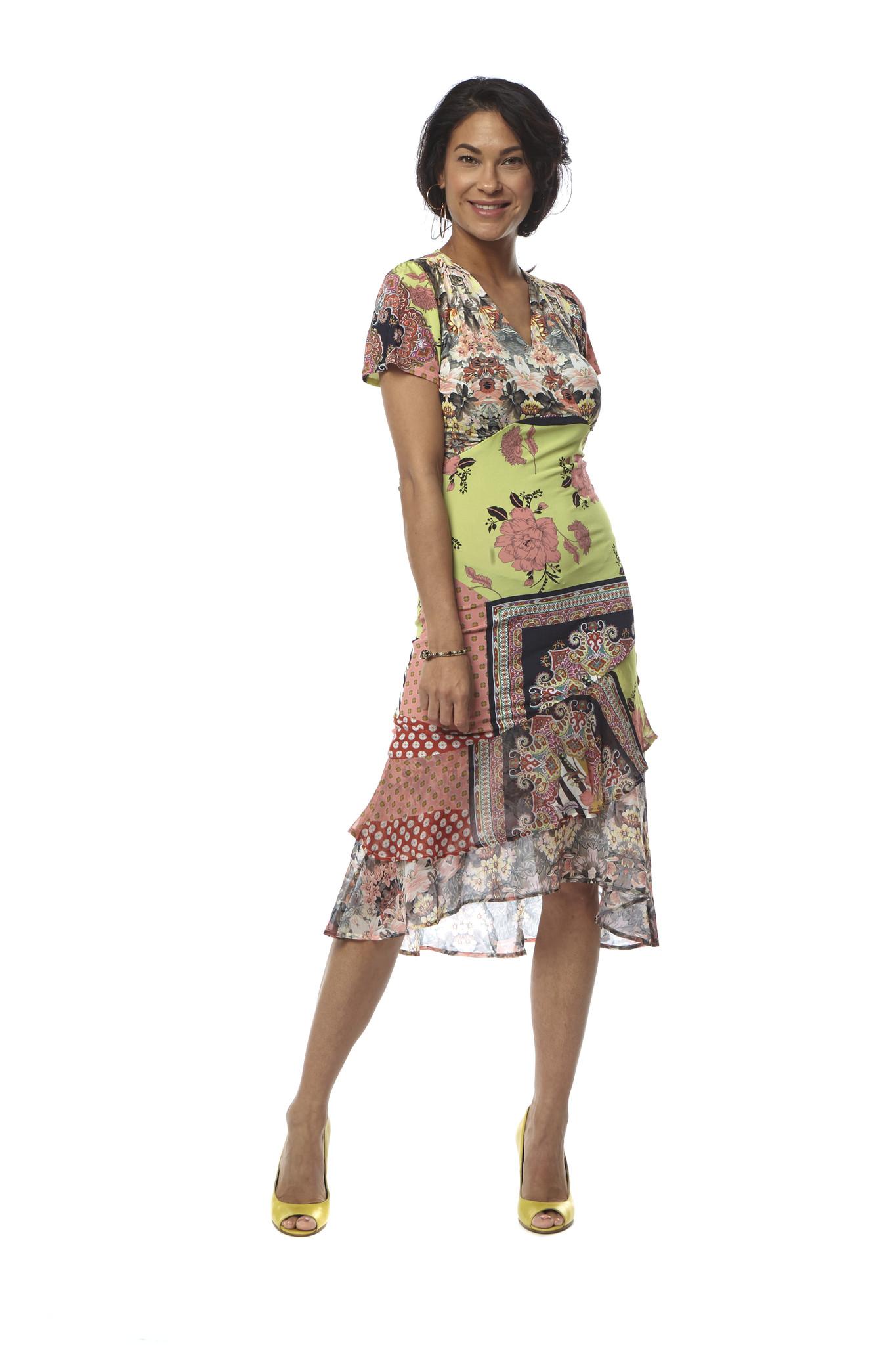 TESSA KOOPS FELICITY NAVARRA DRESS