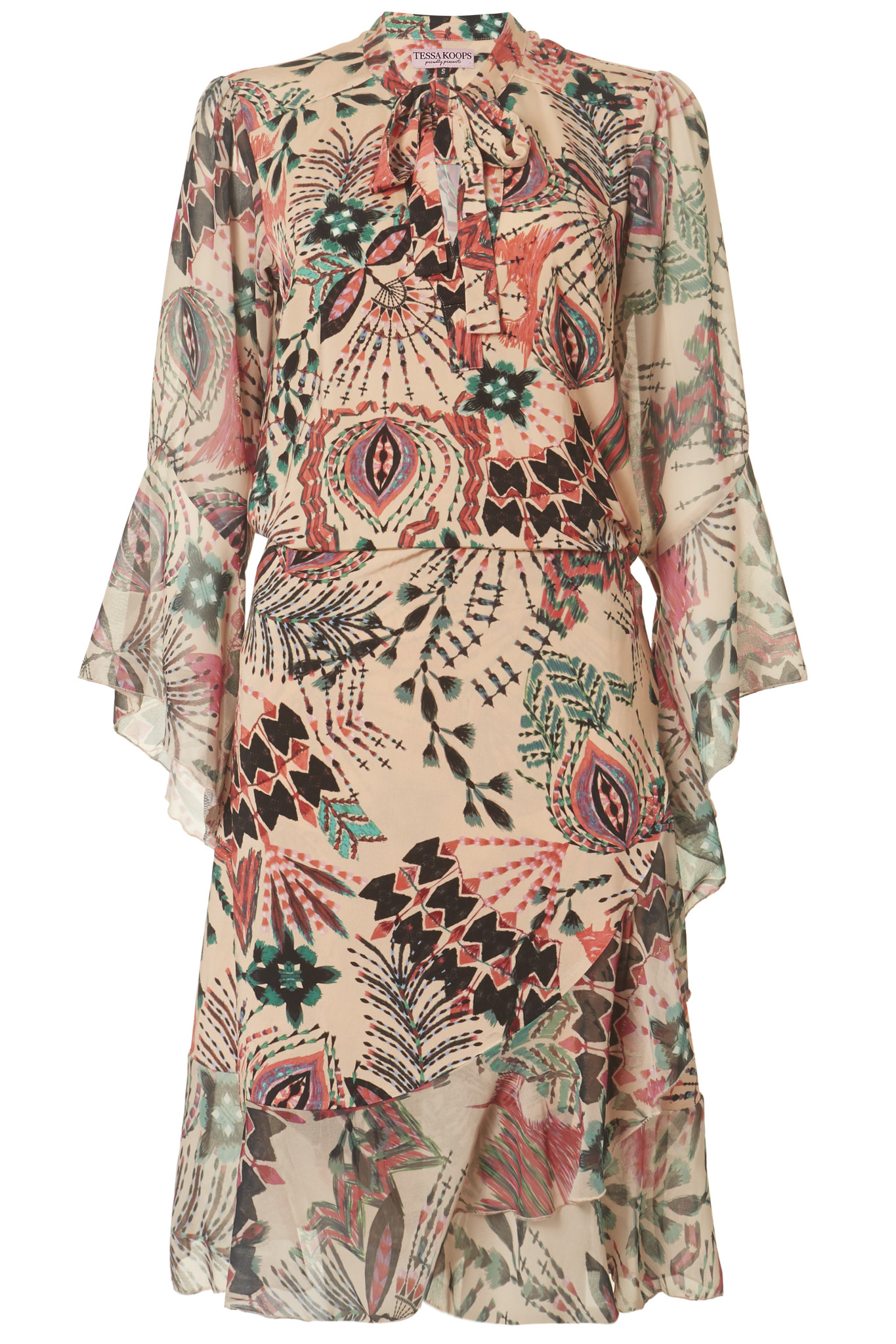 TESSA KOOPS ELVA PEACHES DRESS