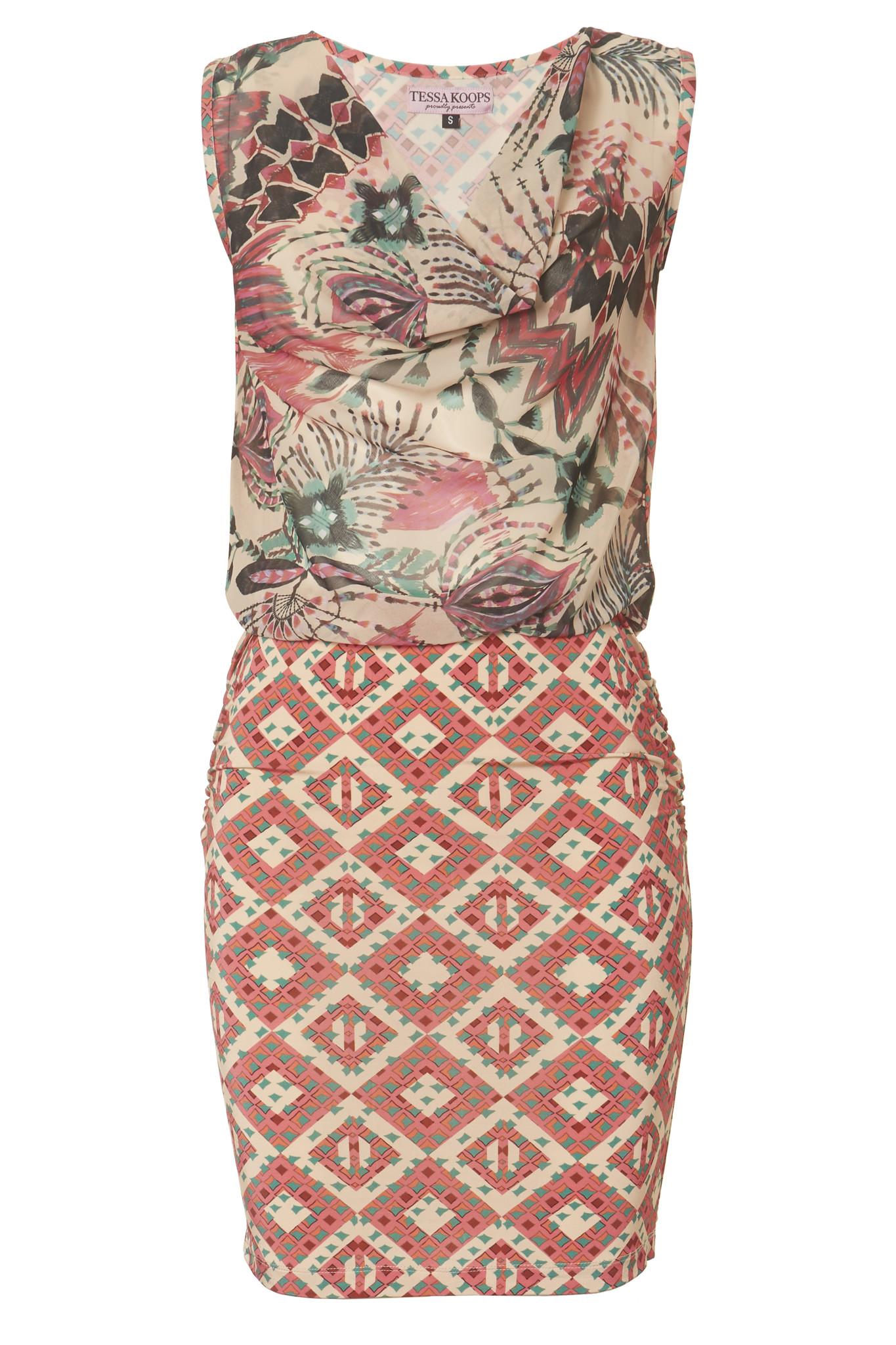 TESSA KOOPS SHAREN PEACHES DRESS